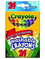 Crayola Washable Crayons, Multi Color