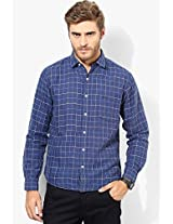 Blue Slim Fit Casual Shirt Pepe Jeans