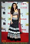 Alia Bhatt Black Stylish & Awesomn Lehenga