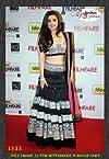 Bollywood cutey Alia Bhatt Blue Lehenga choli /157