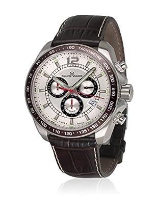 PHILIPPE VANDIER Uhr mit schweizer Quarzuhrwerk 77011  42 mm