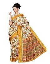 De Marca Multi-Coloured Silk SS818 Saree