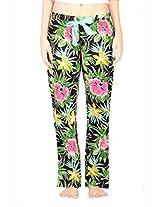 IKA Full-Length Pyjama-Multi-Colour Flower Print