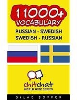 11000+ Russian - Swedish Swedish - Russian Vocabulary (ChitChat WorldWide) (Swedish Edition)