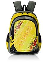 "Genius Nylon Children's Backpack (GN 1520 - 17""-YELLOW)"