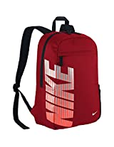 Nike Classic Turf Polyester Backpack (Red)