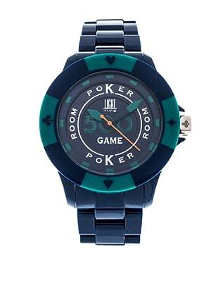 Light Time Reloj Poker Azul / Verde