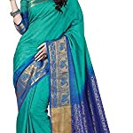 Women kanjivaram Tussar Silk Saree With Blouse Pcs