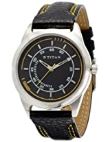 Titan Purple Analog Black Dial Men's Watch - NE1590SL03