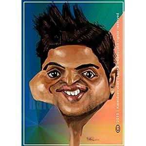 Kaleidostrokes Caricature - Suresh Raina