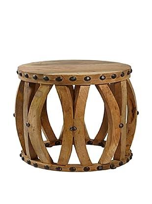 Jeffan La Salle End Table, Natural