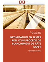 Optimisation En Temps Reel D''Un Procede de Blanchiment de Pate Kraft (Omn.Univ.Europ.)