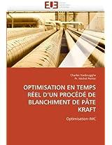 Optimisation En Temps Reel D'Un Procede de Blanchiment de Pate Kraft