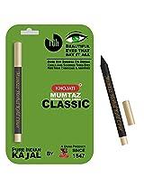 K-Veda Mumtaz Herbal Kohl Liner Classic - Pure Indian Kajal