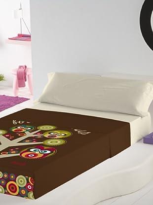 Juego de Sábanas Búhos (Multicolor)