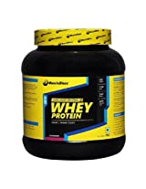 MuscleBlaze Whey Protein, 2.2 lb Strawberry