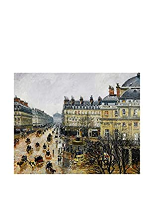 Picture Lienzo The Boulevard 1 - Camille Pissarro