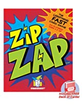 ZipZap lightning-fast card game with free deck of standard playing cards