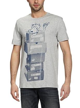 Puma T-Shirt Super Puma Tee (light gray heather)