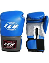 LEW Pro Style Training Gloves (Blue)