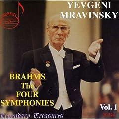 ムラヴィンスキー指揮 ブラームス:交響曲全集(2枚組)のAmazonの商品頁を開く