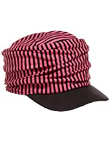 San Diego Hat Little Girls'  Stripe Baseball Cap