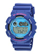 Casio G-Shock Digital Blue Dial Men's Watch - GD-120TS-2DR (G504)