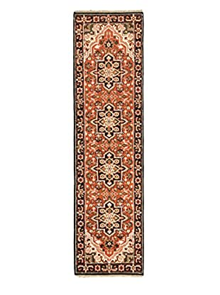 Hand-Knotted Royal Heriz Wool Rug, Copper, 2' 7