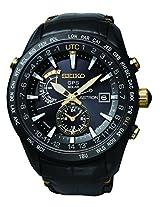 Seiko Analogue Grey Dial Watch (SAST100G)