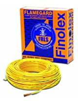 Finolex 4.0-Sqmm Flame Retardant Low Smoke Halogen Cable (Yellow)