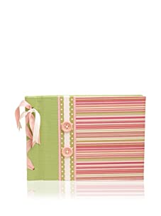 Molly West Princess- Large Paper Album, Pink/Green