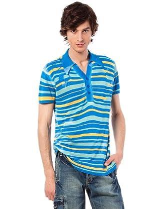 Custo Polo Wex (Azul)