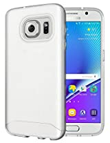 Galaxy S7 Case - TUDIA Ultra Slim Full-Matte ARCH TPU Bumper Protective Case for Samsung Galaxy S7 (Frosted Clear)