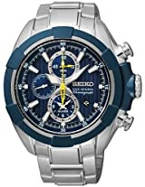 Seiko Velatura Chronograph 100M WR Men's Watch(SNAF41P1)