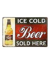 Imported 20x30cm Vintage Metal Tin Sign Plaque Wall Art Poster Cafe Bar Pub Beer #8