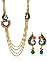 Royal Bling Knock-Knock Peacock Multi-layer Jewel set for women