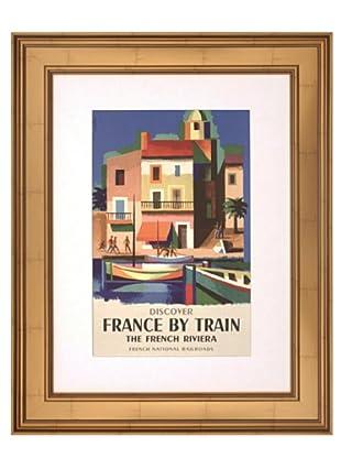 France by Train, 16 x 20