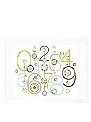 "Olli & Lime George 123 Wall Art, 19.75"" x 27.5"""