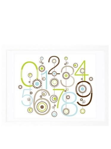 Olli & Lime George 123 Wall Art, 19.75