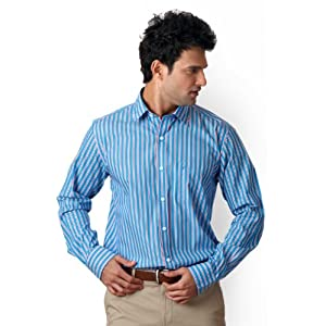 Casual Striped Shirt By Allen Solly