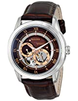 Bulova Automatic Analog Brown Dial Men's Watch - 96A120