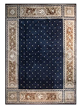 The Rug Market Chengdu Rug, Navy/Gold, 11' 3
