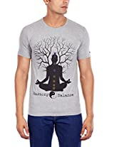 Urban Yoga Men's Cotton T-Shirt