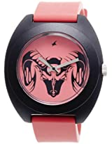 Fastrack Tees Analog Red Dial Unisex Watch - 9952PP01J