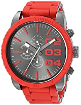 Diesel Chronograph Red Dial Men's Watch - DZ4289