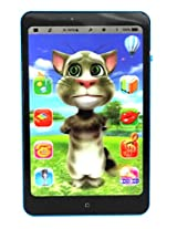 3D Battery Operated Talking Tom Interactive Learning Tablet for Kids Children