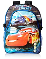 Disney Boys' Cars Deluxe Backpack with Lunch Kit
