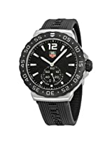 Tag Heuer F1 Black Dial Stainless Steel Men'S Watch - Thwau1110Ft6024