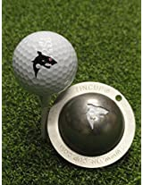 Tin Cup Jaws Golf Ball Marker