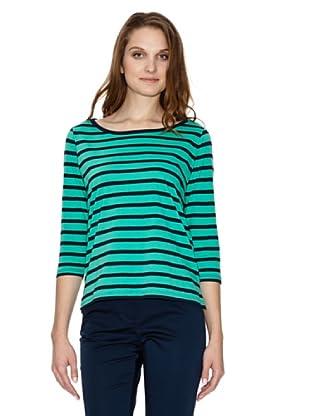Tommy Hilfiger Camiseta (Verde / Marino)